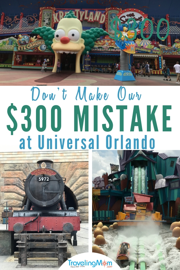 Learn how to avoid our $300 mistake at Universal Orlando and when I will never buy a Universal Express Pass online before our trip. #UniversalOrlando #Orlando #TravelTips #BudgetTravel