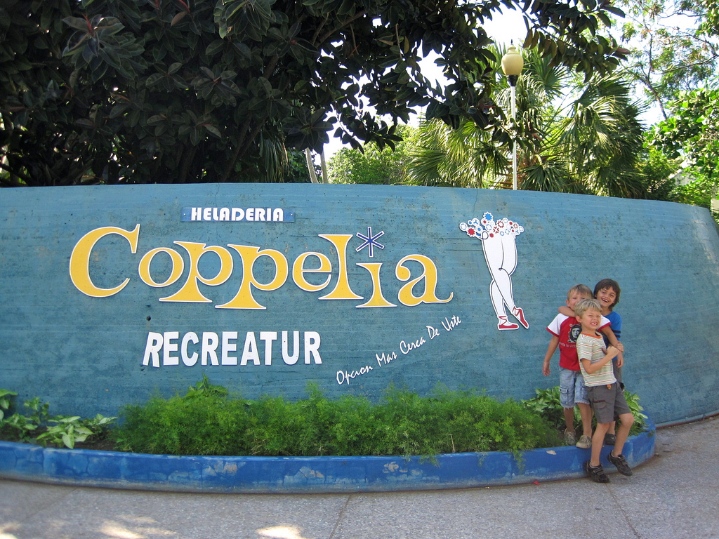Coppelia Icecream Shop in Havana