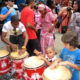 Kids playing bongos in Havana Cuba