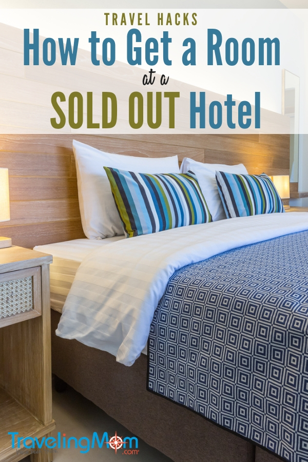 Wondering what to do when you can't find a hotel room because they're all sold out? It's so frustrating. But here are pro tips to try! #traveltricks #hotelhacks
