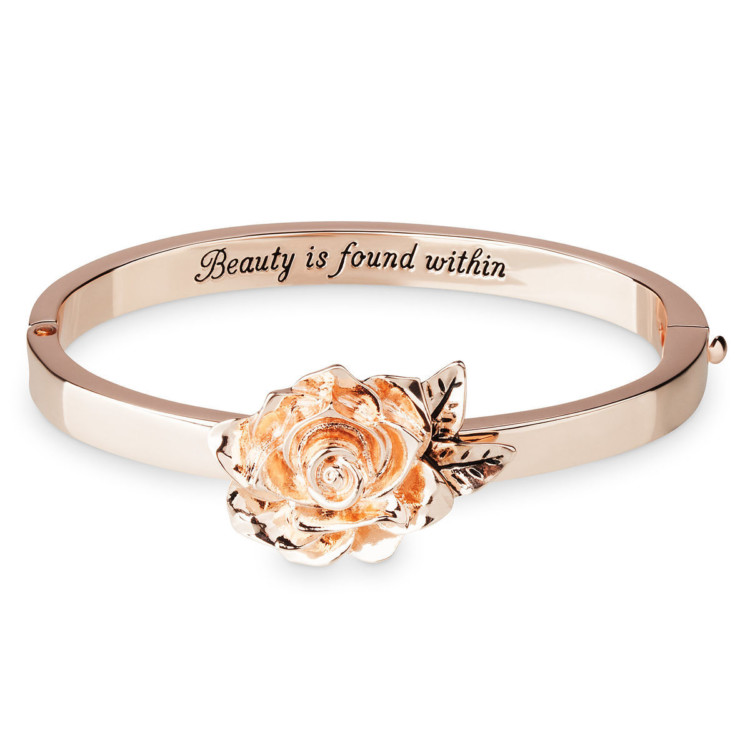 "Great gift ideas for the Disney-loving adult: Beauty is Found within ""Beauty and the Beast"" bracelet."