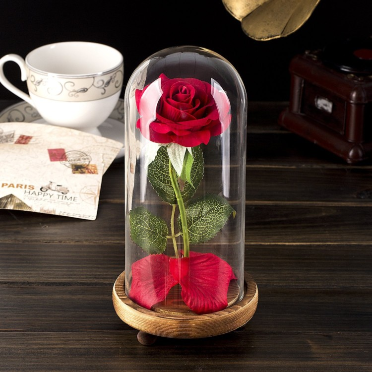 Great gift ideas for the Disney-loving adult: Beauty and the Beast DIY Rose Kit