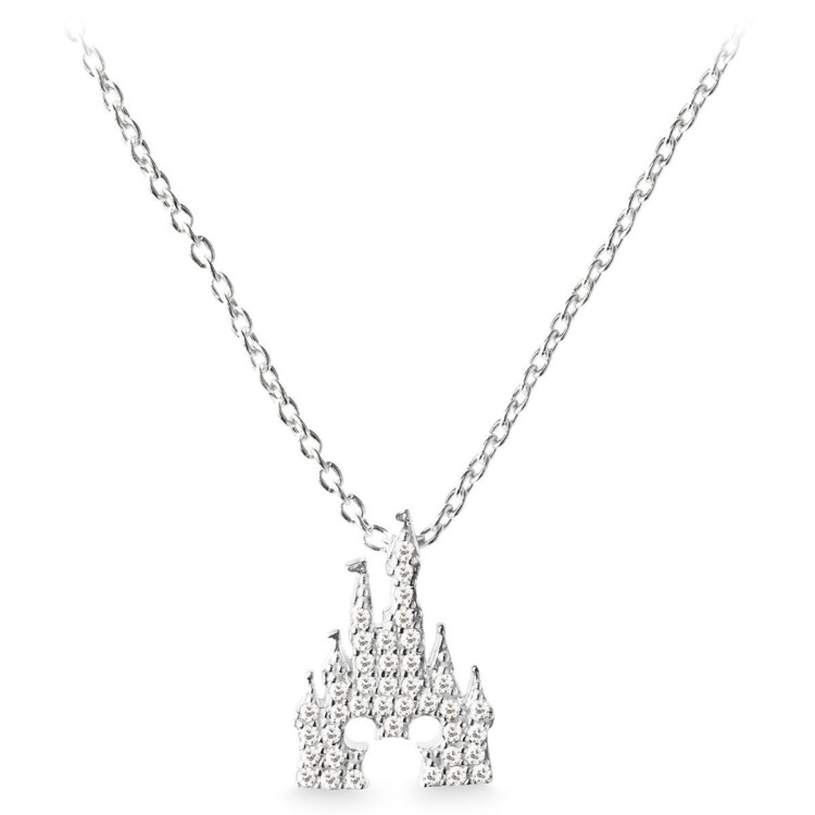 Great gift ideas for the Disney-loving adult: Cinderella Castle necklace. Photo courtesy of ShopDisney.com