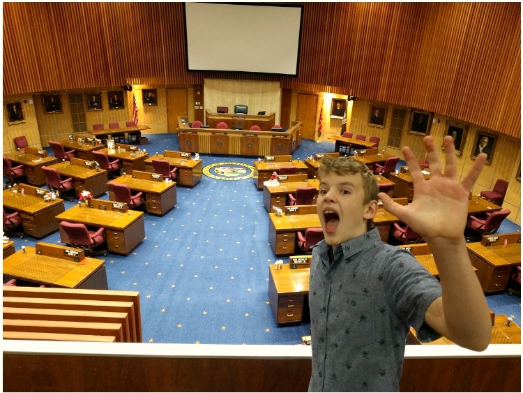 Living history trips with kids in Phoenix: Arizona Capitol Museum