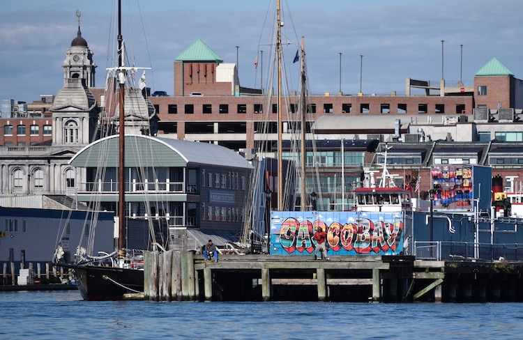 Visit the Casco Bay harbor, one the the things to do in portland maine