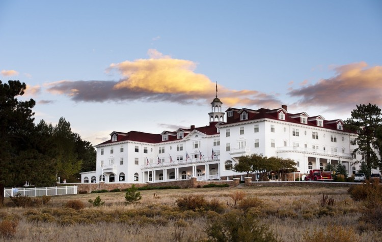 The Stanley Hotel in Estes Park, Colorado, beautiful by day, but ghosts haunt its halls at night