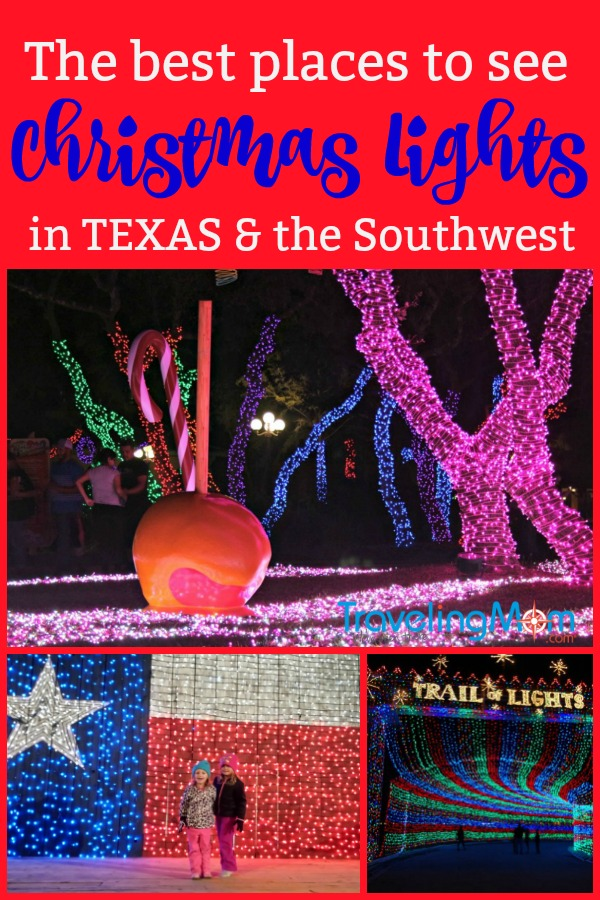 Looking for the best places where to see Christmas Lights in Texas and the Southwest? Here's our top picks!
