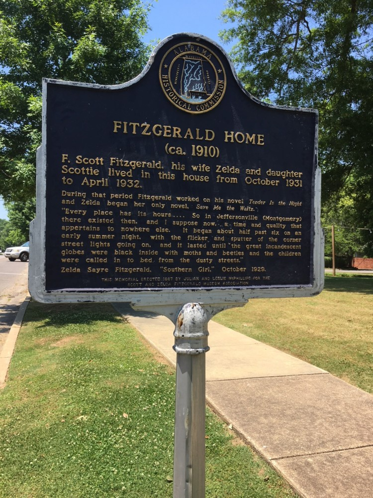 If you're a fan of literature be sure to visit The F. Scott and Zelda Fitzgerald Museum in Montgomery, Alabama.