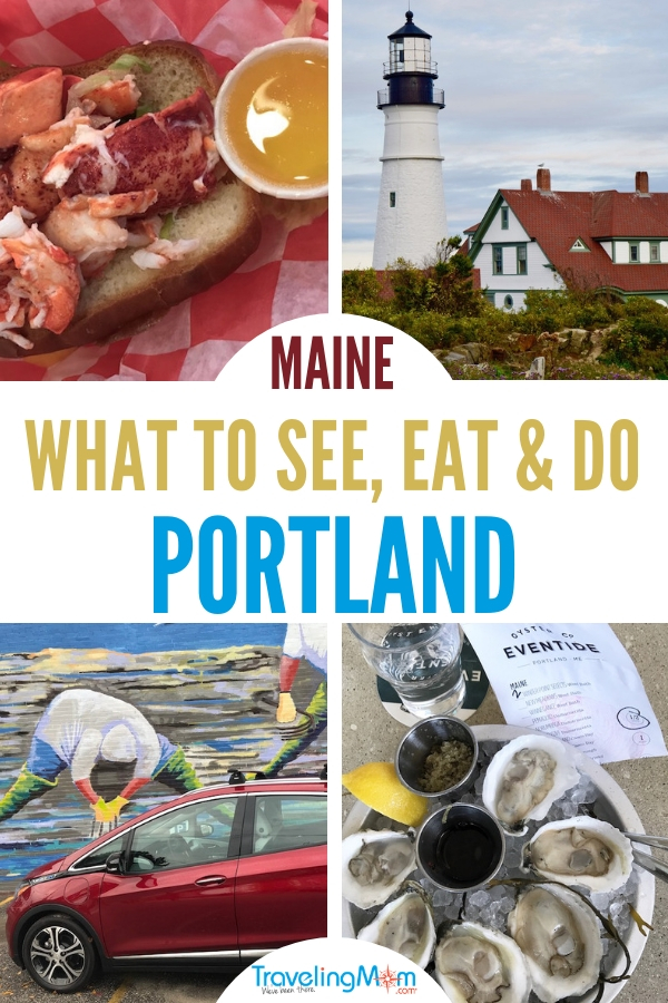 Of course you'll eat lobster. But there's more to do in Portland, Maine. Shop your way through the city's cobblestone streets or take a cliff walk along the Atlantic Ocean. Or find out how those lobsters get from the sea to your plate on a lobster boat tour. #newengland #roadtrip #activities