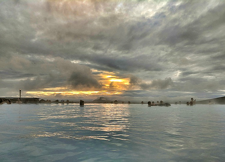 Reasons to Visit Myvatn Nature Baths in Iceland. Where the pool meets the sky.