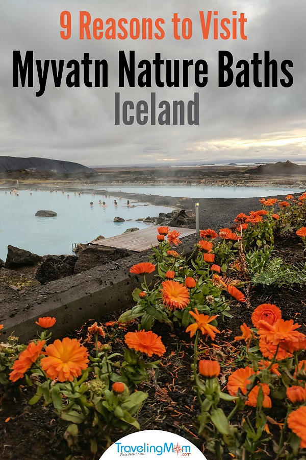 Going to Iceland? Skip the crowds of Blue Lagoon! Along the Ring Road, Myvatn Nature Baths await your arrival. No reservation needed! #iceland #naturebaths