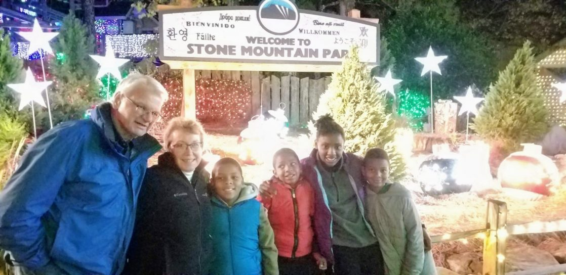 A Stone Mountain Christmas is amazing for families of all ages and Snow Mountain is a great place to find snow in the South!