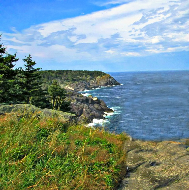 Things to do on Monhegan Island, Maine. Hiking along the ocean delivers spectacular vistas.
