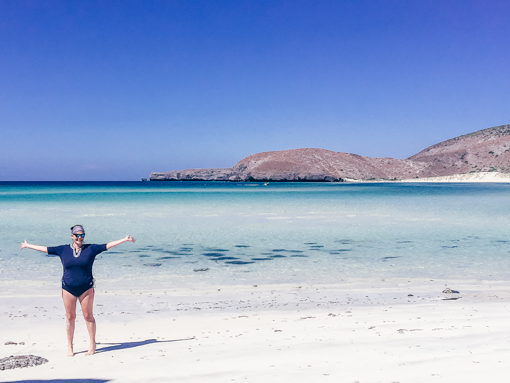 Balandra Beach in the Sea of Cortez is the most beautiful beach ever. Photo credit: Jill Robbins, Texas