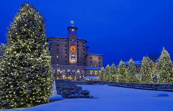 In search of White Christmas Hotels? Consider The Broadmoor Hotel for their holiday traditions.