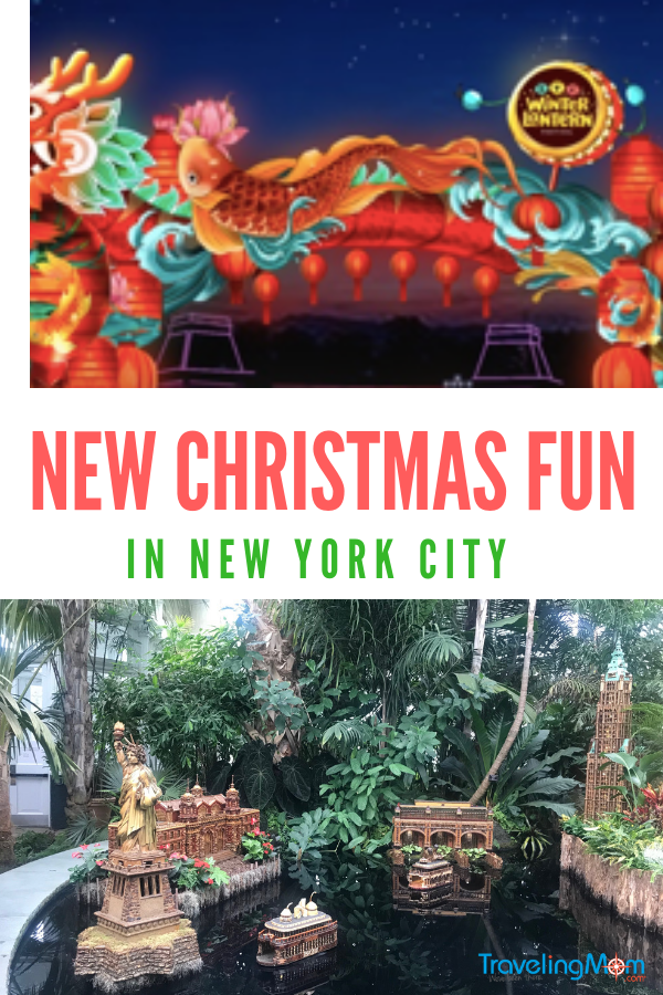 Looking to start new Christmas traditions? THereare lots of new things to do for Christmas in NYC #christmaslights #holidaylights #NYCCHristmas