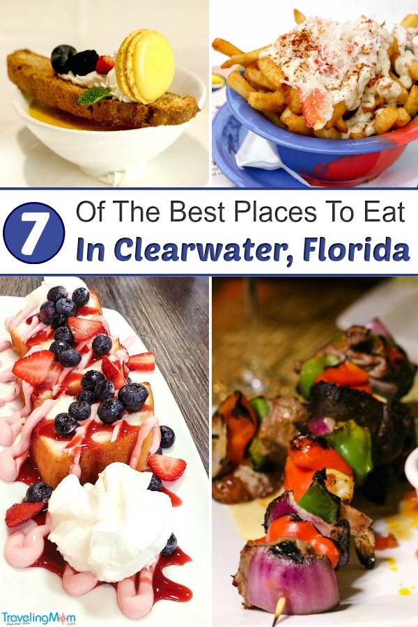 Clearwater Restaurants - Wondering where to eat in Clearwater, Florida? From casual restaurants to fine dining with a beach view, these Clearwater restaurants have you covered #Clearwater #ClearwaterFlorida #