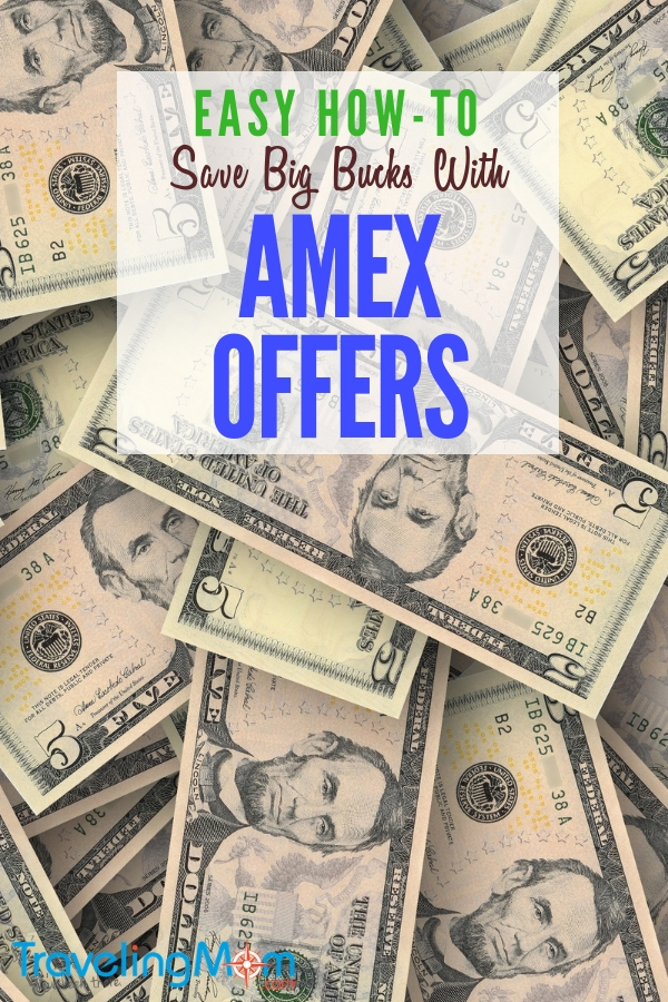 Save hundreds a year with AMEX Offers. We'll show you how! #budget #tips #shopping