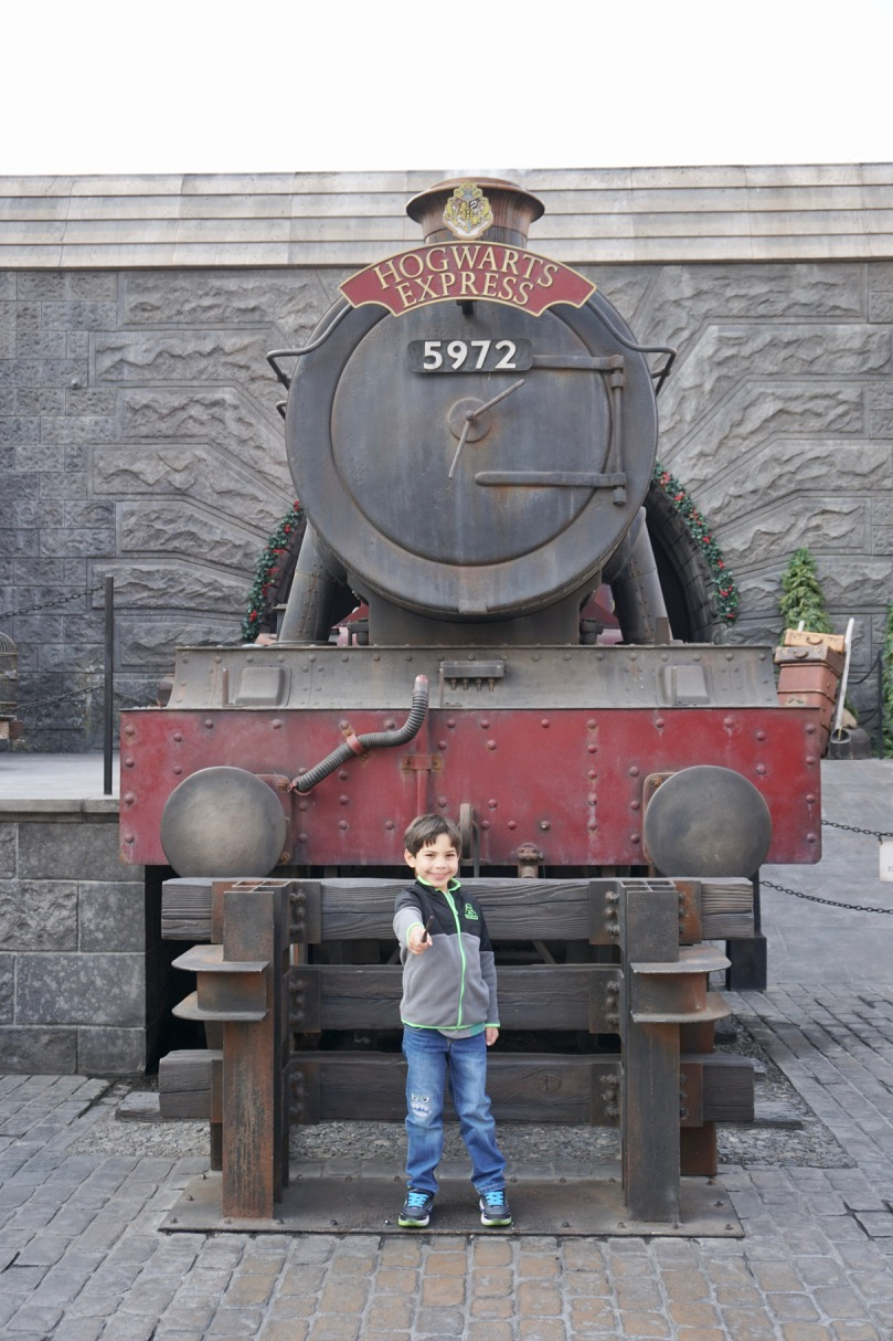 The Wizarding World of Harry Potter is one of the best attractions for young kids at Universal Studios Hollywood. Photo by Multidimensional TravelingMom, Kristi Mehes.