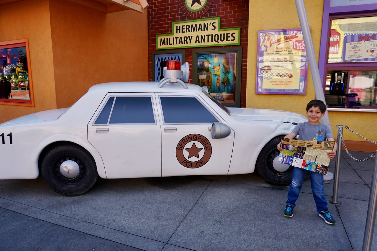 Lights, camera, and action! Even young kids get to be stars at Universal Studios Hollywood! Photo by Multidimensional TravelingMom, Kristi Mehes.