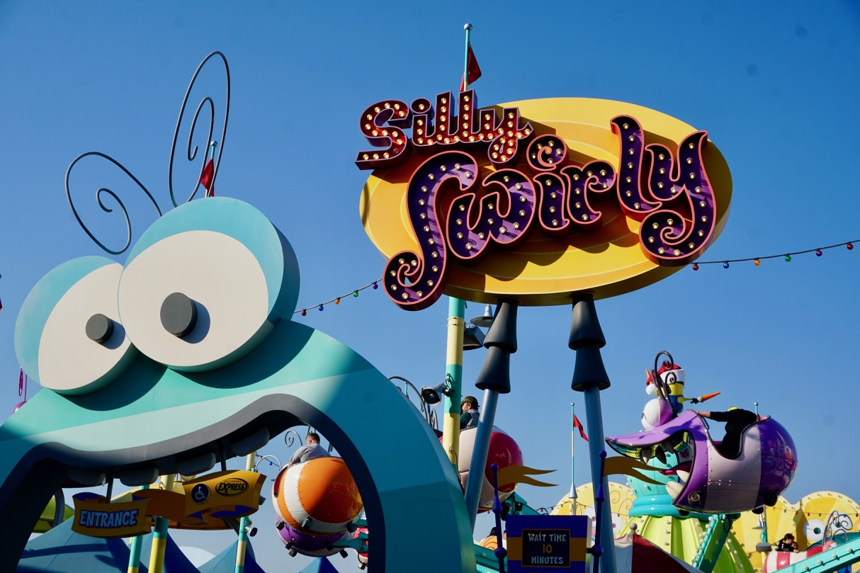 One of the best attractions for young kids at Universal Studios Hollywood is Super Silly Fun Land! Photo by Multidimensional TravelingMom, Kristi Mehes.
