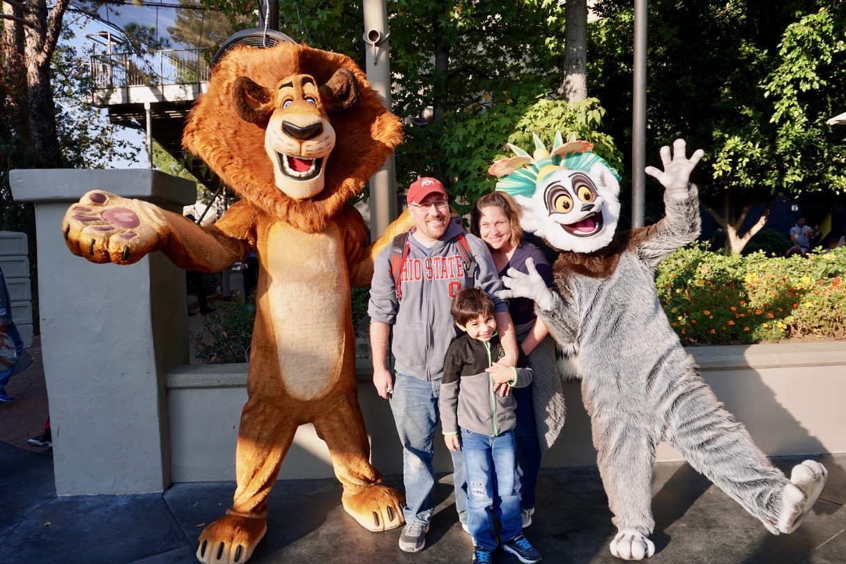 There are several character meet and greets available at Universal Studios Hollywood. Photo by Multidimensional TravelingMom, Kristi Mehes.