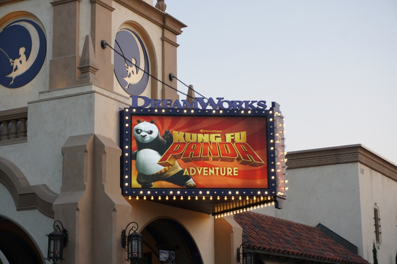 One of the other best attractions for young kids at Universal Studios Hollywood is DreamWorks Theatre Featuring Kung Fu Panda. Photo by Multidimensional TravelingMom, Kristi Mehes.