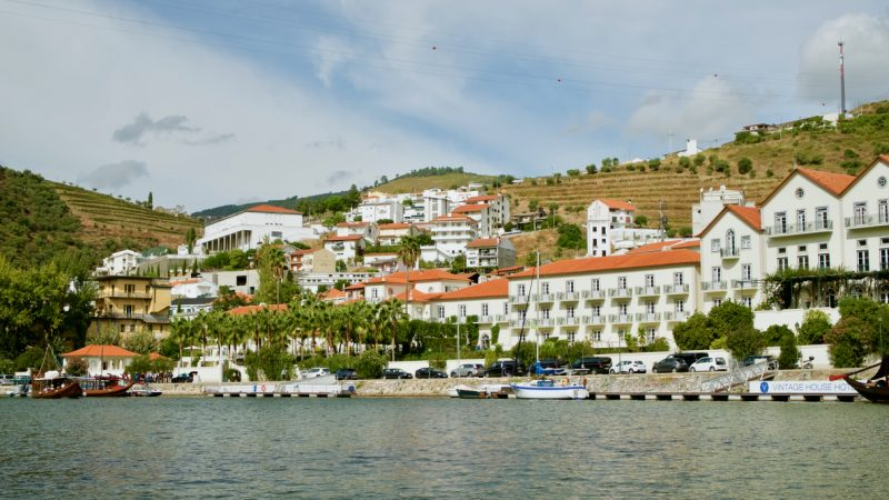 Beautiful views from the Douro Valley Portugal