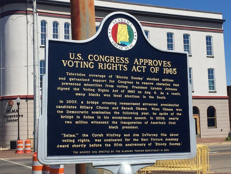 Selma, Alabama is the site of inspiring civil rights history, one of the best things to do in Alabama