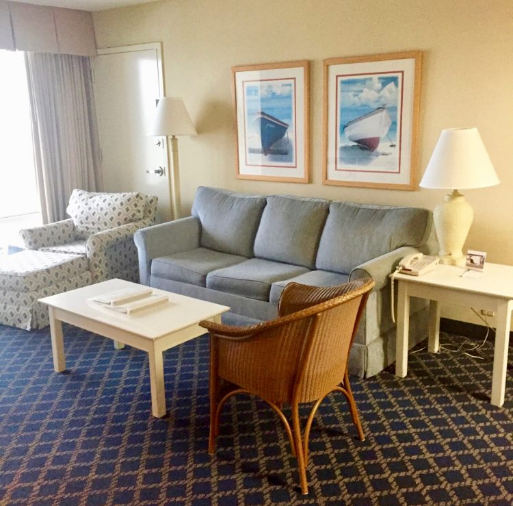 The Hampton Inn & Suites is a great place to stay when doing Myrtle Beach on a budget.