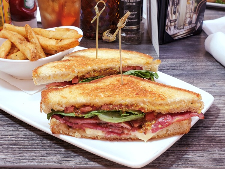 When you eat at Clear Sky On Cleveland, you may want to give the Brie BLT a try.