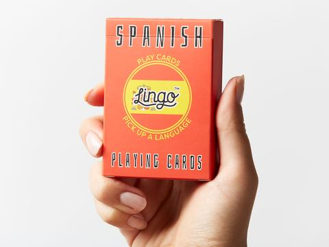 Lingo cards come in a variety of languages, and make great stocking stuffers.