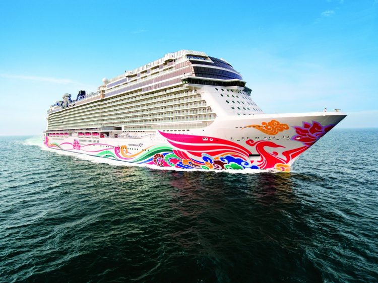 Stress-free family holiday travel: Norwegian Joy is sailing to Alaska next year.