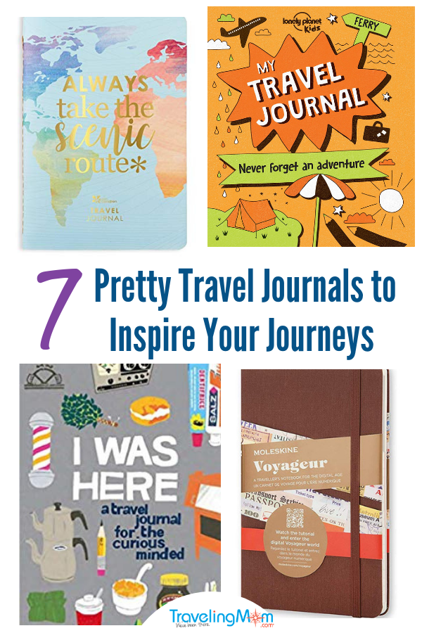 Seven Travel Journals to Inspire Your Journeys #Travel #GiftsforTravelers #ECPetitiePlanner #Moleskine