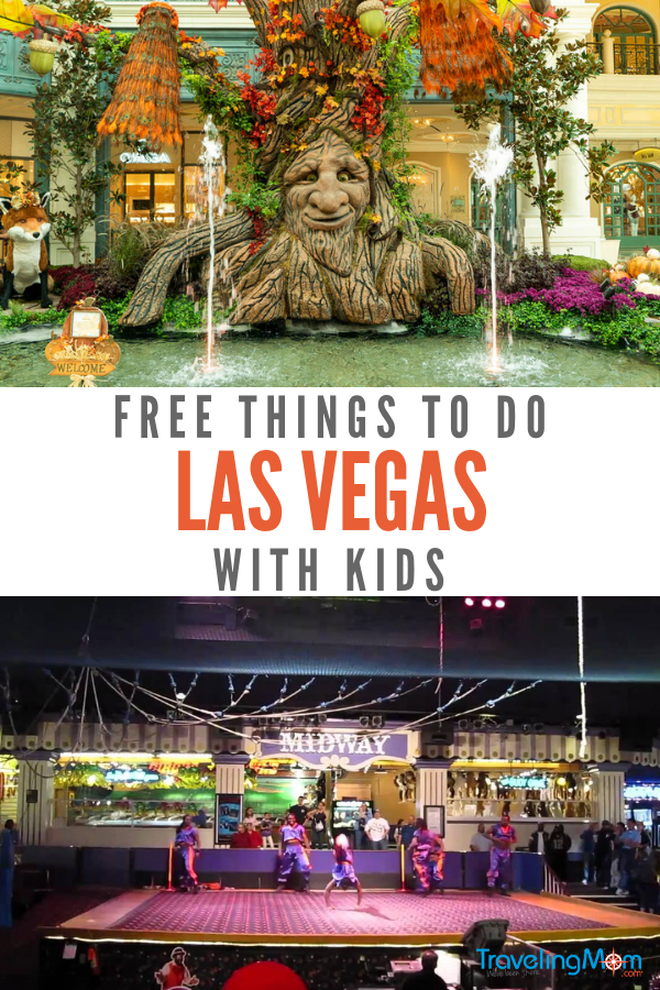 Free Things To Do In Las Vegas With Kids Travelingmom