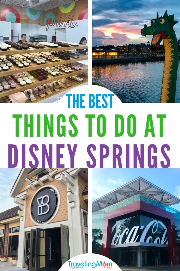 Things to do at Disney Springs pin