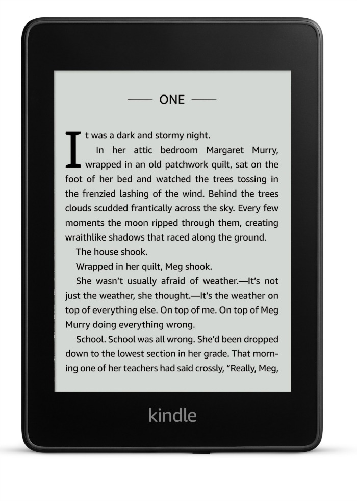 The new Kindle Paperwhite is lighter and has more storage than ever before.