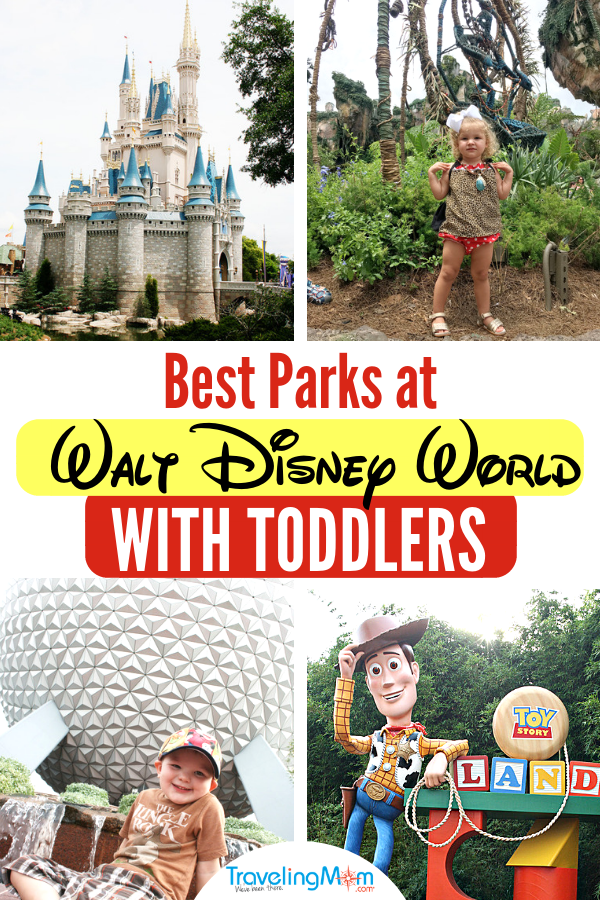 Taking toddlers to Disney World? These are the best Walt Disney World parks and rides for little ones. Magic Kingdom park tops the list, but should you bother with Epcot, Animal Kingdom, or Hollywood Studios? This the ultimate guide for taking a toddler to Disney including must-do shows and attractions, what to pack and where to eat. What are the best things to do at #DisneyWorld with a #Toddler?