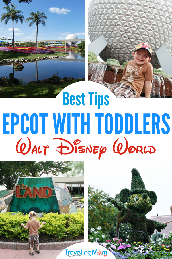 Taking toddlers to Epcot at Disney World? These are the best Walt Disney World parks and rides for little ones. Magic Kingdom park tops the list, but should you bother with Epcot? What are the best things to do at #DisneyWorld with a #Toddler?