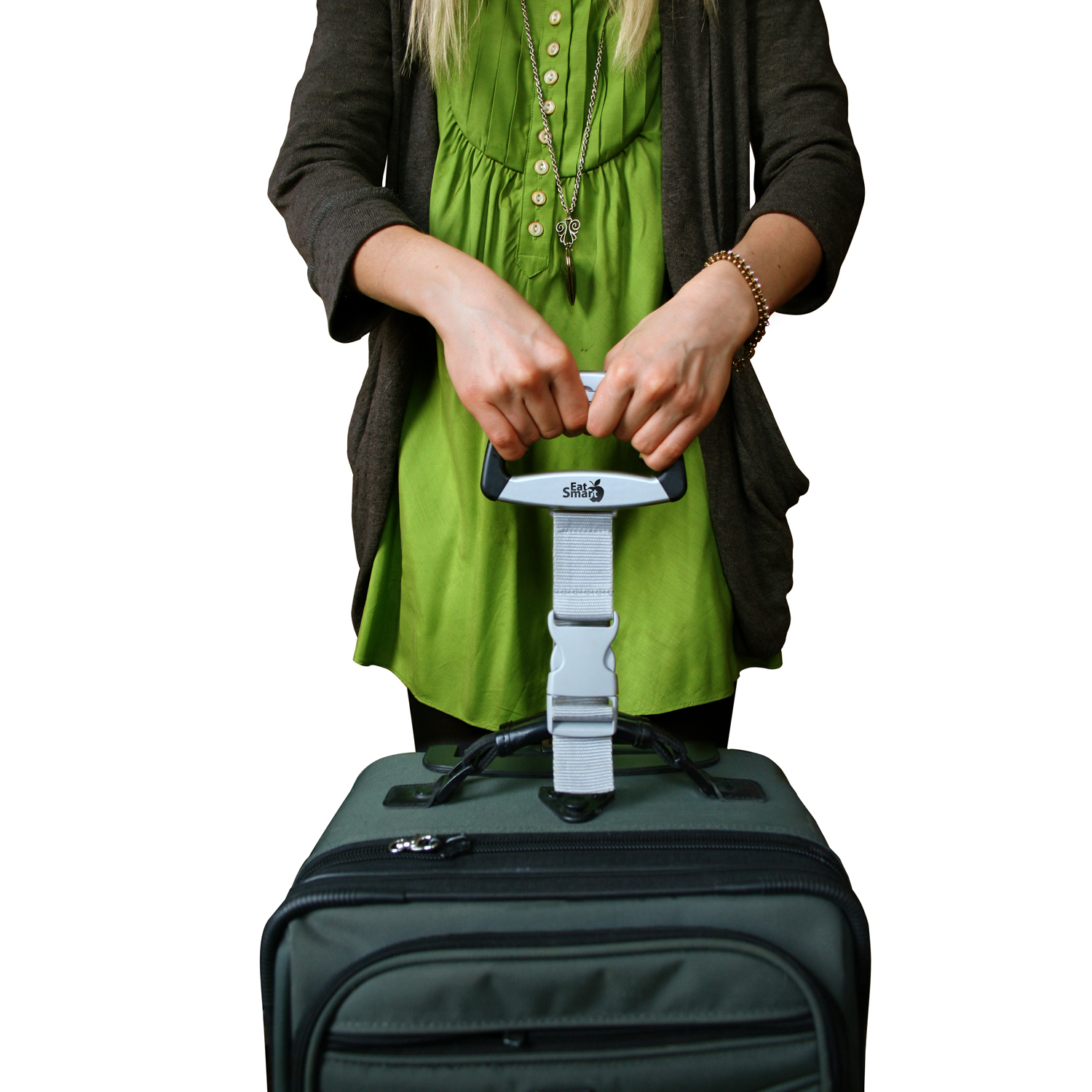 A great stocking stuffer for travelers? Try this luggage scale.