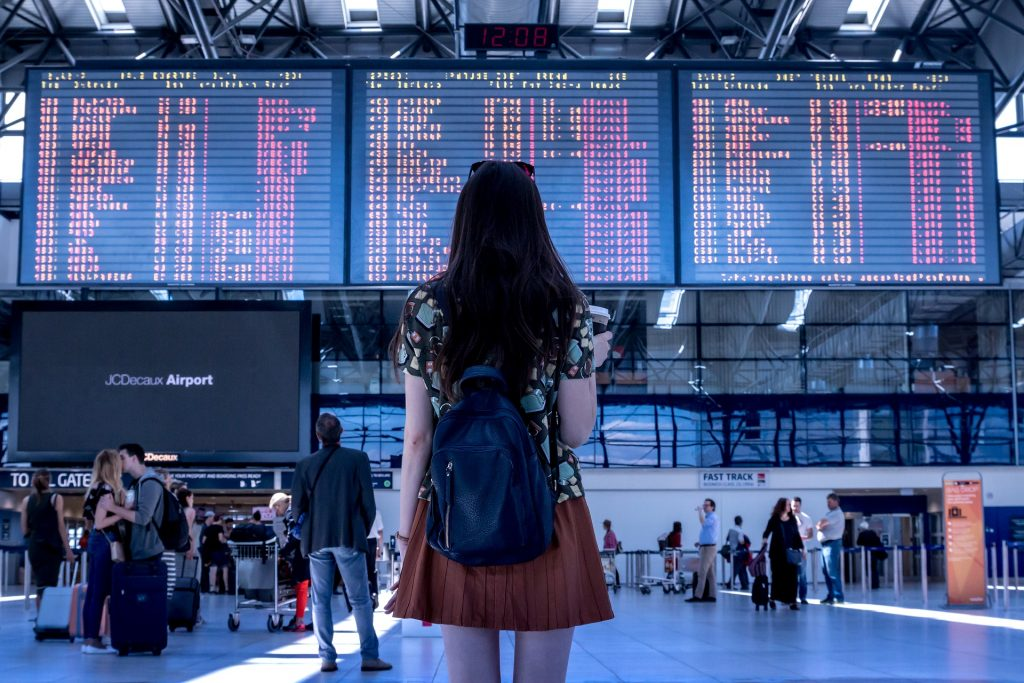 Flight delays can leave you frustrated at the airport wondering when you'll ever leave. Learn how to get the compensation you deserve. #travelingmom #travel #flights #airport