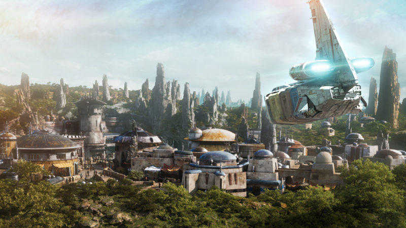 Star Wars Galaxy's Edge Batuu Revealed in Star Tours