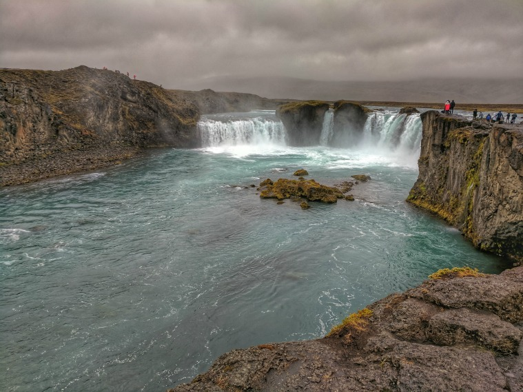 Reasons to Visit Myvatn Nature Baths in Iceland. Dramatic Godafoss never fails to impress.
