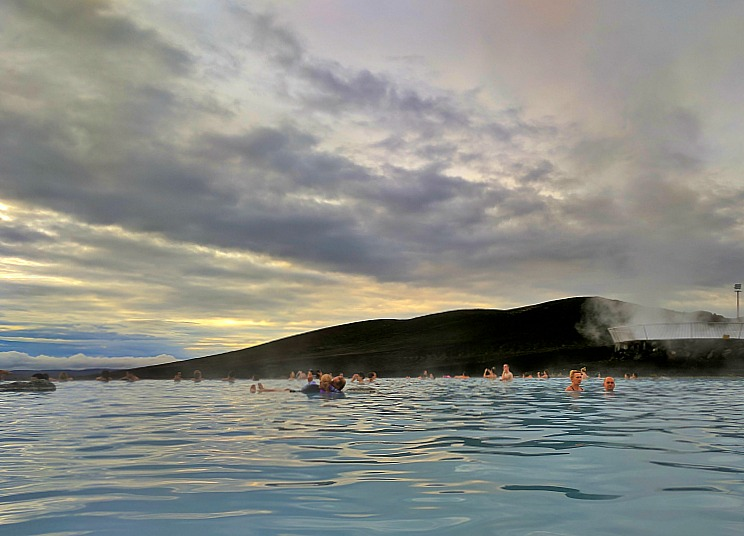 Reasons to visit Myvatn Nature Baths in Iceland. Plenty of room for everyone.