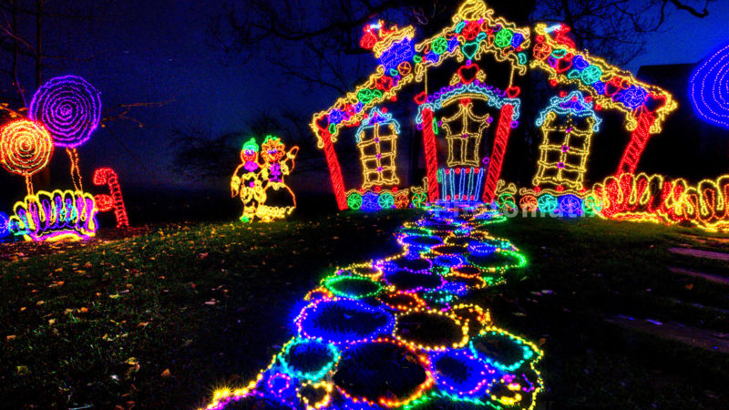 Christmas Light Displays In The Southeast Us Travelingmom