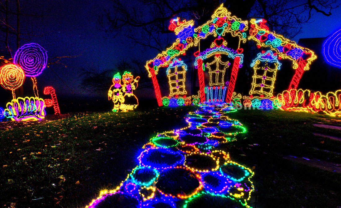 Garden Walk Chattanooga: Christmas Light Displays In The Southeast US