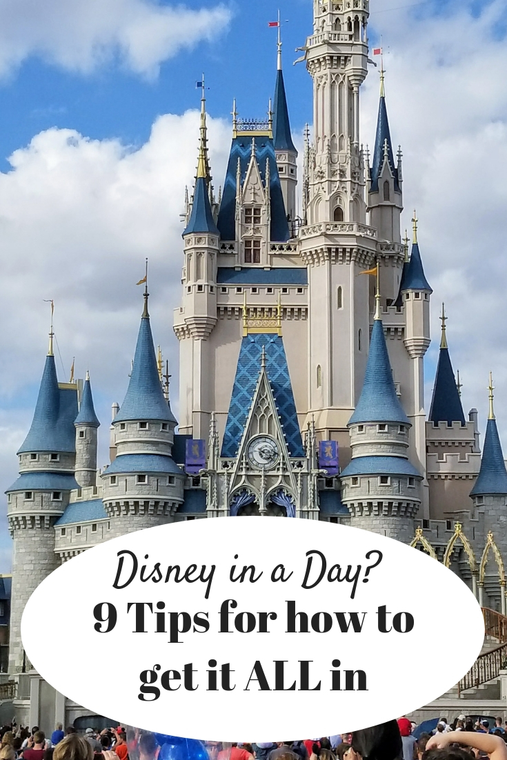 If you want to spend 1 day at Disney World and get all the fun in, you must have a plan. Check out these 9 tips for making the most of your 1 day Disney Ticket! #disneyworld #disneytips #disneyparks #orlando #minnievans