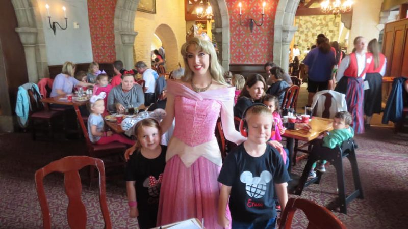 Akershush Royal Banquet Hall Dining With Princesses At Epcot