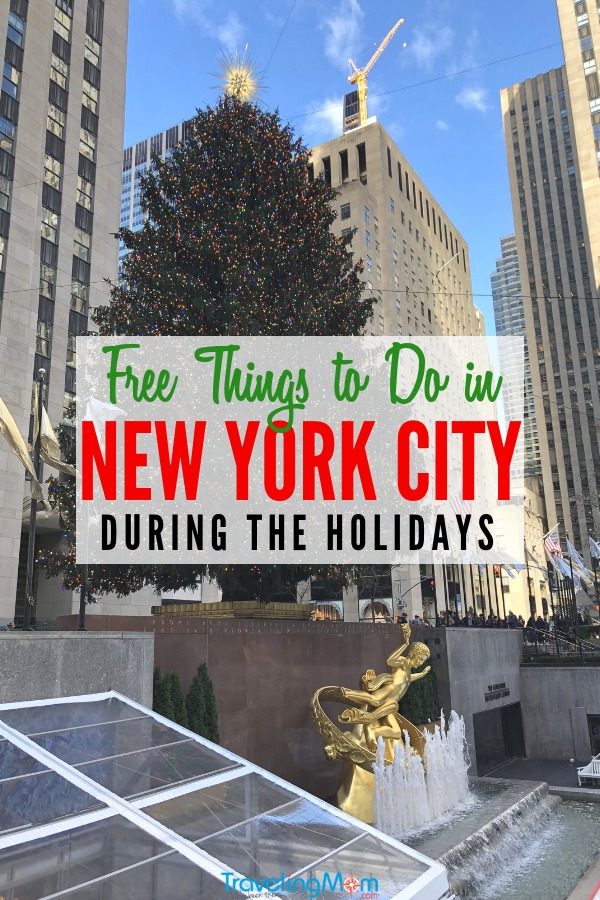 Visiting New York City during the holiday season? Save money on your Big Apple travels with these free things to do in NYC in winter. #nycfree #freeinNYC #NYCholiday #nycwinte