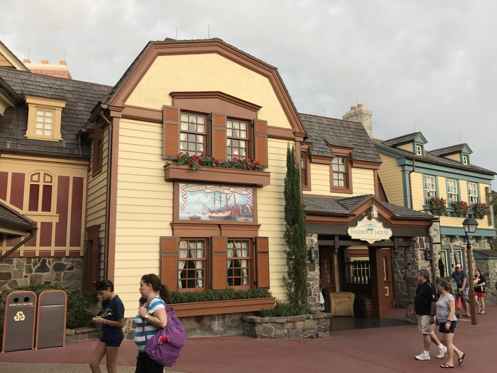 Don't choose a Disney World quick service restaurant just because it's nearby!